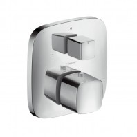 Hansgrohe Puravida Thermostat for concealed installation with shut-off and diverter valve