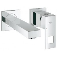 Grohe Eurocube 2 Hole Concealed Basin Mixer Tap