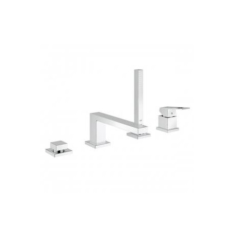 Grohe Eurocube 4 Hole Single Lever Bath Mixer Tap