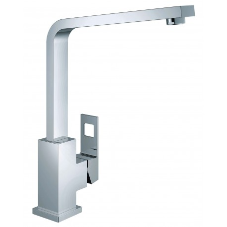 Grohe Eurocube Kitchen Sink Mixer Tap Single Lever