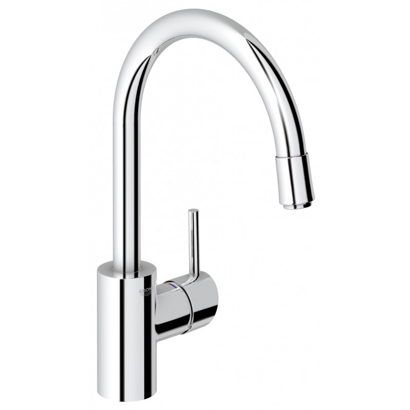 grohe kitchen sink taps grohe concetto kitchen sink mixer tap pull out spray 4103