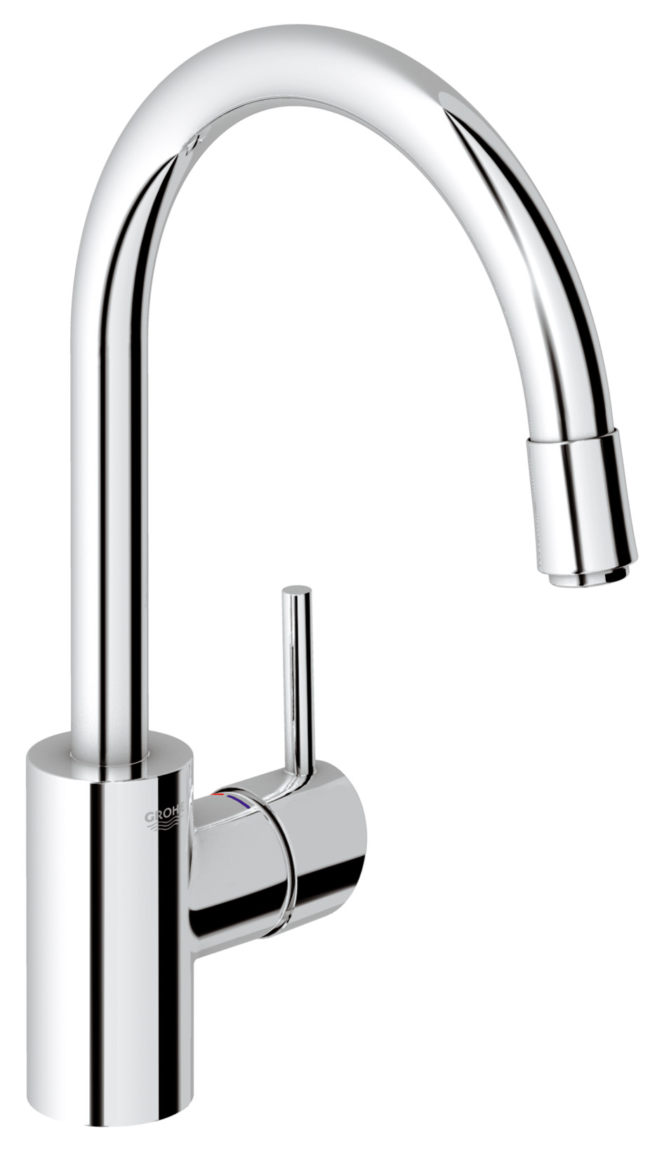 Grohe Concetto Kitchen Sink Mixer Tap Pull Out Spray