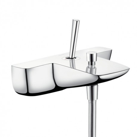 Hansgrohe PuraVida Single lever bath and shower mixer for exposed installation