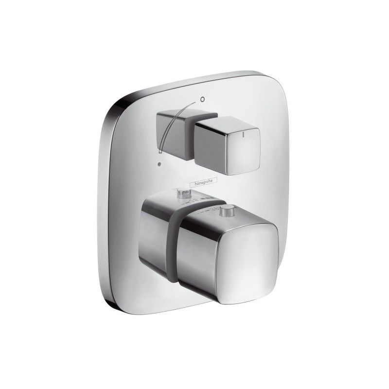 hansgrohe puravida thermostat for concealed installation. Black Bedroom Furniture Sets. Home Design Ideas