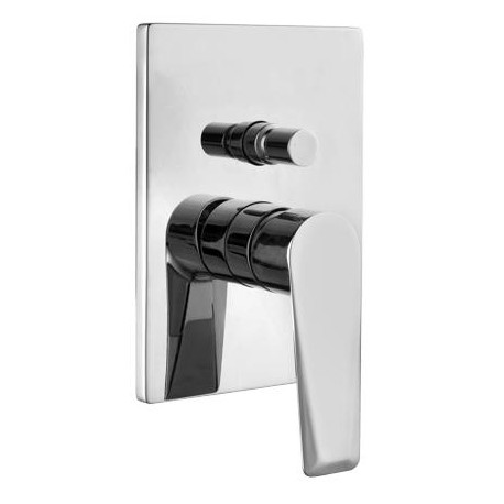 Omnires Astoria Designer Concealed Bath Mixer Tap Chrome