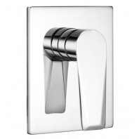 Omnires Astoria Concealed Shower Mixer Tap Single Lever Chrome