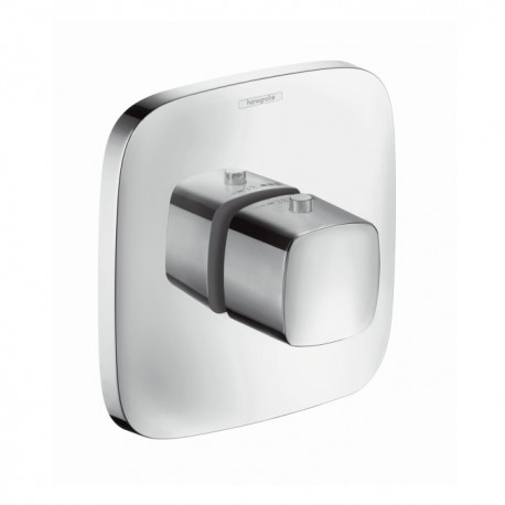 Hansgrohe PuraVida Highflow thermostatic mixer for concealed installation