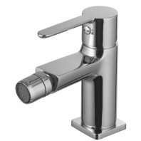 Omnires Colorado Bidet Mixer Tap Single Lever Chrome