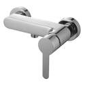 Omnires Colorado Shower Mixer Tap Wall Mounted Single Lever Chrome