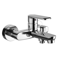 Omnires Ebro Bath Mixer Tap Single Lever Chrome