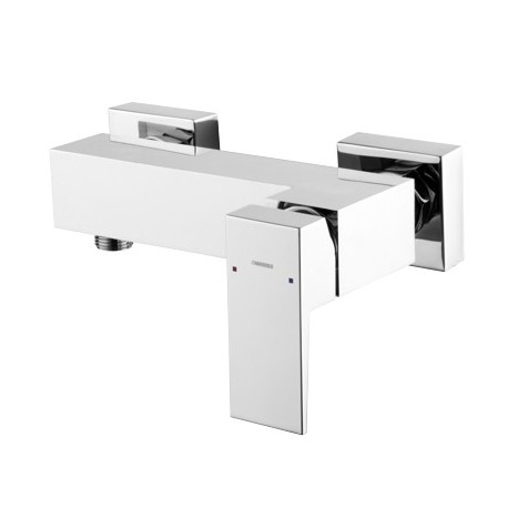Omnires Fresh Shower Mixer Tap Wall Mounted Single Lever Chrome