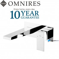 Omnires Fresh Concealed Basin Mixer Tap Single Lever Chrome With Limiter Water Flow