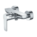 Omnires Mackenzie Shower Mixer Tap Wall Mounted Single Lever Chrome