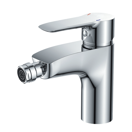 Omnires Mackenzie Bidet Mixer Tap Single Lever Chrome
