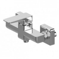 Omnires Parma Shower Mixer Tap Wall Mounted Single Lever Chrome