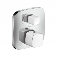 Hansgrohe  PuraVida Thermostat for concealed installation with shut-off valve