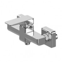 Omnires Siena Shower Mixer Tap Wall Mounted Single Lever Chrome