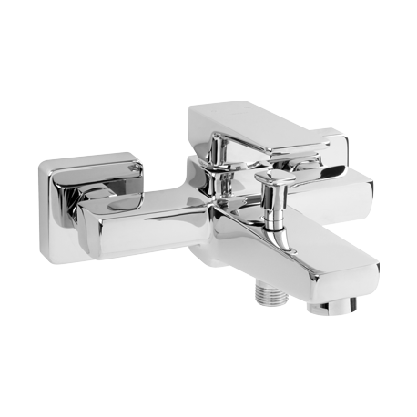 Omnires Parma Bath Mixer Tap Single Lever Chrome