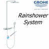 Grohe Rainshower Smart Control 360 Thermostatic Tap Shower Mixer System Panel
