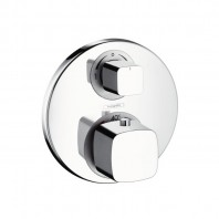 Hansgrohe Metris Ecostat E thermostatic mixer for concealed installation with integrated shut off/diverter valve