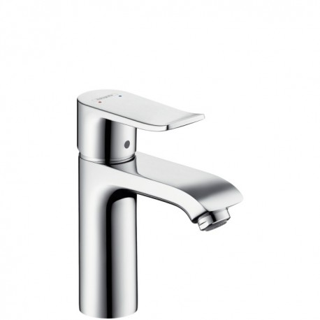 Hansgrohe Metris Single lever basin mixer for standard basins with waste set - 110