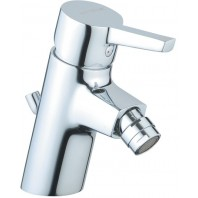 Vitra Slope Bidet Mixer Tap With Pop Up Waste Single Lever Chrome