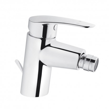 Vitra Dynamic Bidet Mixer Tap With Pop Up Waste Single Lever Chrome