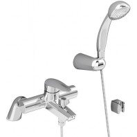 Vitra Dynamic Bath Shower Mixer Tap + Shower Kit Single Lever Chrome