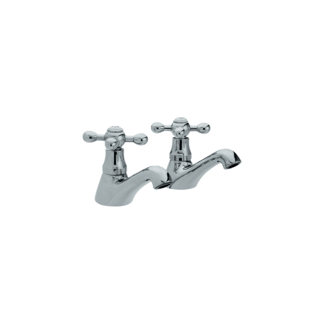 Arley Victorian Bath Pillar Taps