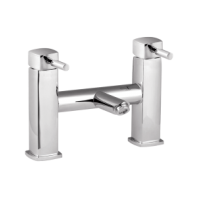 Arley Eazee Square Mono Bath Filler Mixer Tap  2 Two Hole