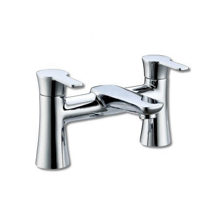 Synergy Tec Studio LC Bath Filler Mixer Tap 2 Two Hole