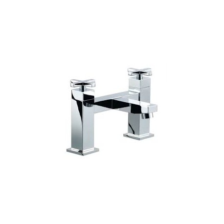 Synergy Tec Studio CX03 Bath Filler Mixer Tap 2 Two Hole Deck Mounted