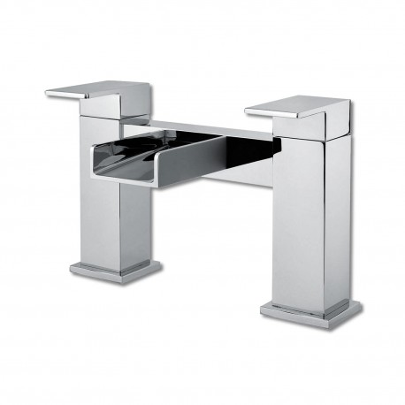 Synergy Tec Studio Z Waterfall Bath Filler Mixer Tap 2 Two Hole