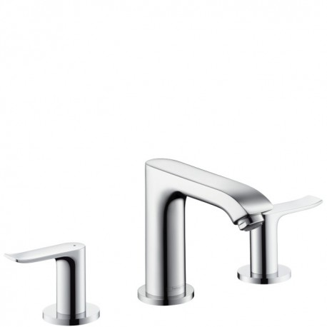 Hansgrohe  Metris 3-Hole basin mixer deck mounted