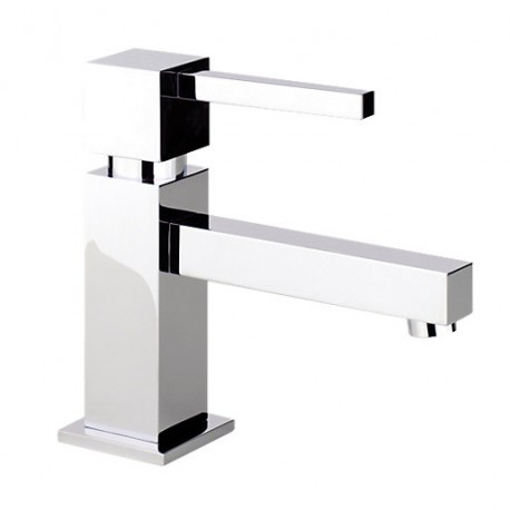 Abode Zeal Basin Mixer Tap Single Lever With Pop Up Waste