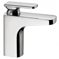 Abode Rapture Midi Basin Mixer Tap Single Lever