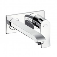 Hansgrohe  Metris Single lever basin mixer for concealed installation with long spout