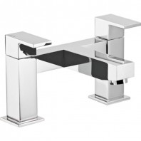 Abode Cento Deck Mounted Bath Filler Mixer Tap 2 Two Hole