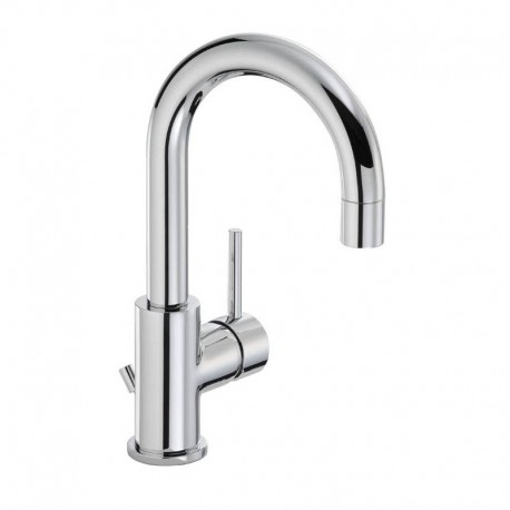 Abode Harmonie Basin Mixer Tap Single Lever With Pop Up Waste