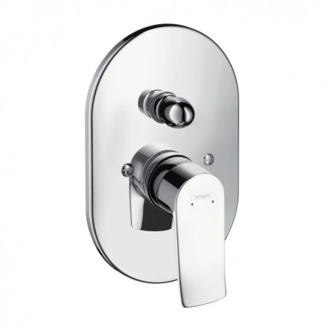 Hansgrohe  Metris Single Lever bath and shower mixer for concealed installation