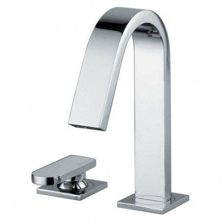 Abode Rapture 2 Two Hole Bath Filler Mixer Tap Deck Mounted