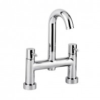 Abode Harmonie Bath Filler Mixer Tap 2 Two Hole Deck Mounted