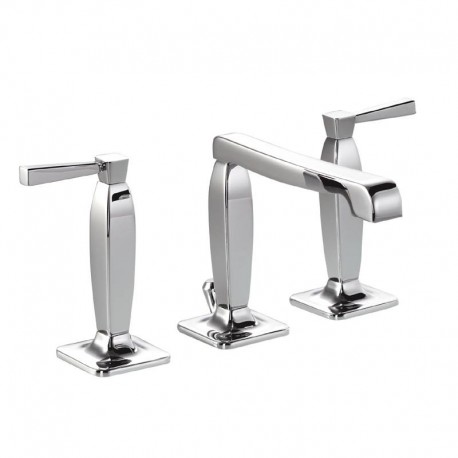 Abode Decadence 3 Hole Basin Mixer Tap Deck Mounted