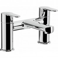 Abode Vedo Deck Mounted Bath Filler Mixer Tap 2 Two Hole
