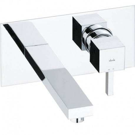 Abode Zeal Concealed Wall Mounted Wash Basin Mixer Tap