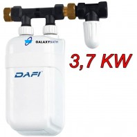 Dafi In Line Instant Under Sink Tankless Electric Boiler Water Heater 3.7 KW