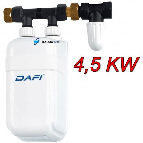 Dafi In Line Instant Under Sink Tankless Electric Boiler Water Heater 4.5 KW