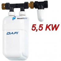 Dafi In Line Instant Under Sink Tankless Electric Boiler Water Heater 5.5 KW