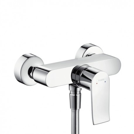 Hansgrohe Metris Single lever shower mixer for exposed installation