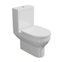 Synergy Alpha BTW Closed Coupled Pan With The Cistern And Soft Close Seat